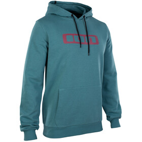 ION Logo Hoody Men laguna green